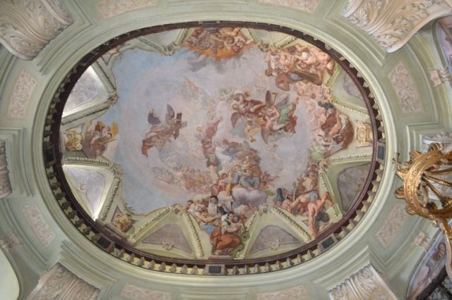 The ceiling- Europe's largest fresco