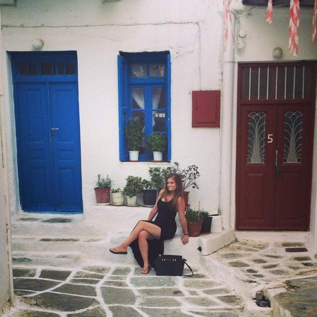 Me in Mykonos